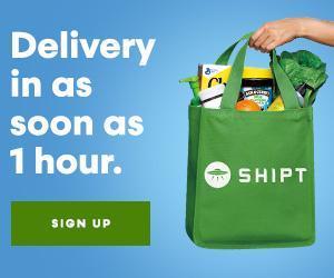 Ad for Shipt