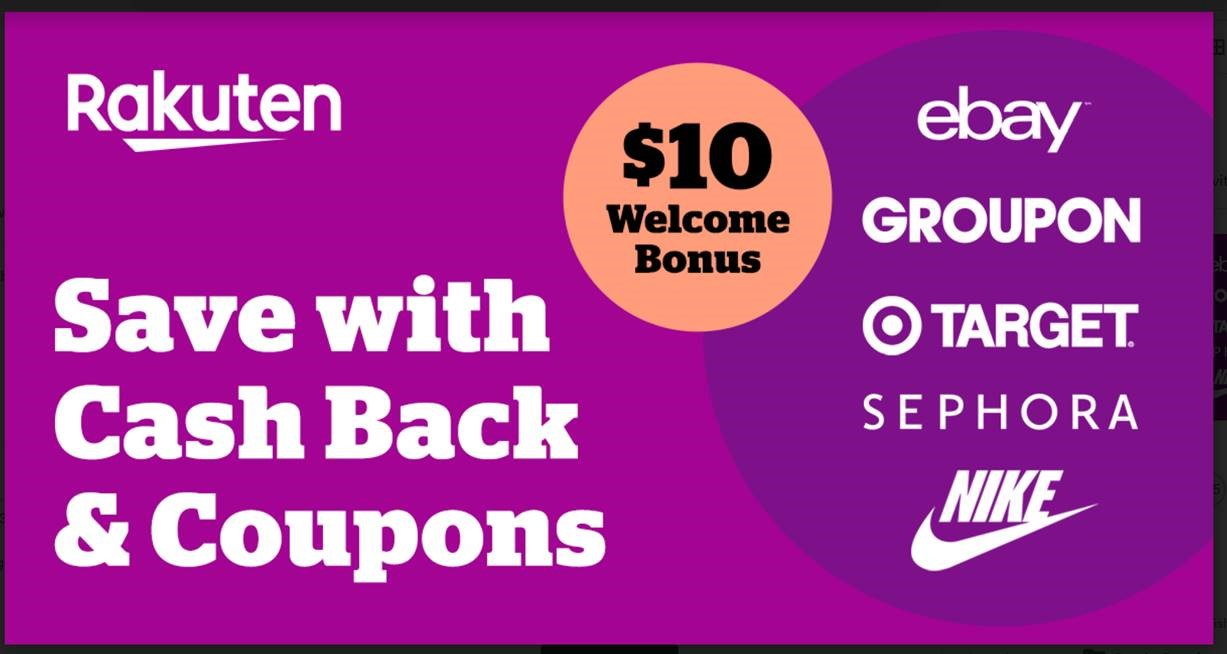 Get $50 for Every 2 referral with Rakuten