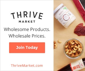 Thrive Market - Natural and Non-Toxic Products