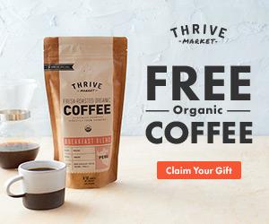 Free Organic Breakfast Blend Coffee