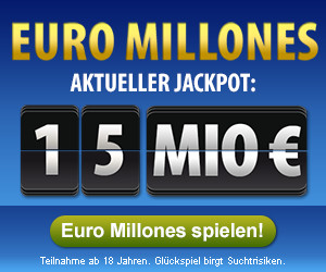 aktueller euro millions jackpot