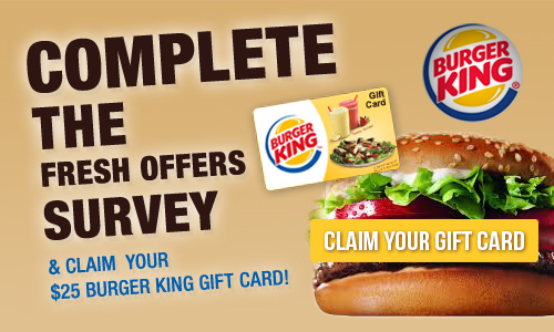 Burger king specials and coupons