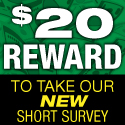 125x125 - Get $20 in Reward$ to spend NOW!