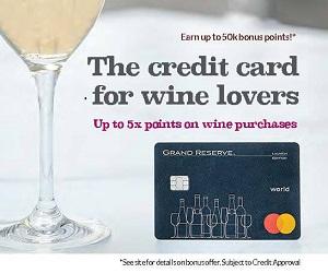 Wine credit card   Winetraveler