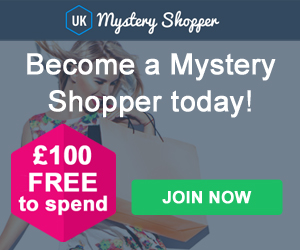 Become a Mystery Shopper. Get Paid £100 Per Review