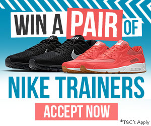 Free Nike Trainers - Win Nike sneakers