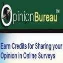 Earn money sharing your opinion in Online Surveys at Opinion Bureau