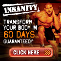 INSANITY builds muscle
