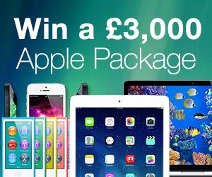 Win a £3,000 Apple package.