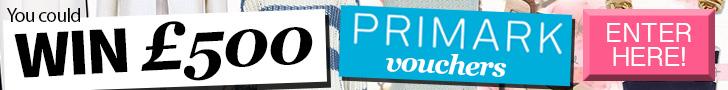 win £500 Primark Vouchers
