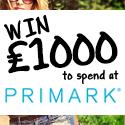 Claim your £1000 Primark Voucher