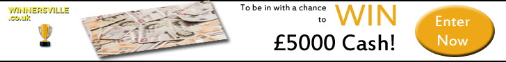 WIN £500 CASH FOR YOUR SHOPPING