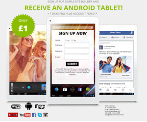 Androud Tablet for £1