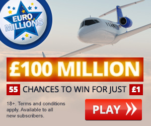 EURO MILLIONS WIN FOR JUST £1